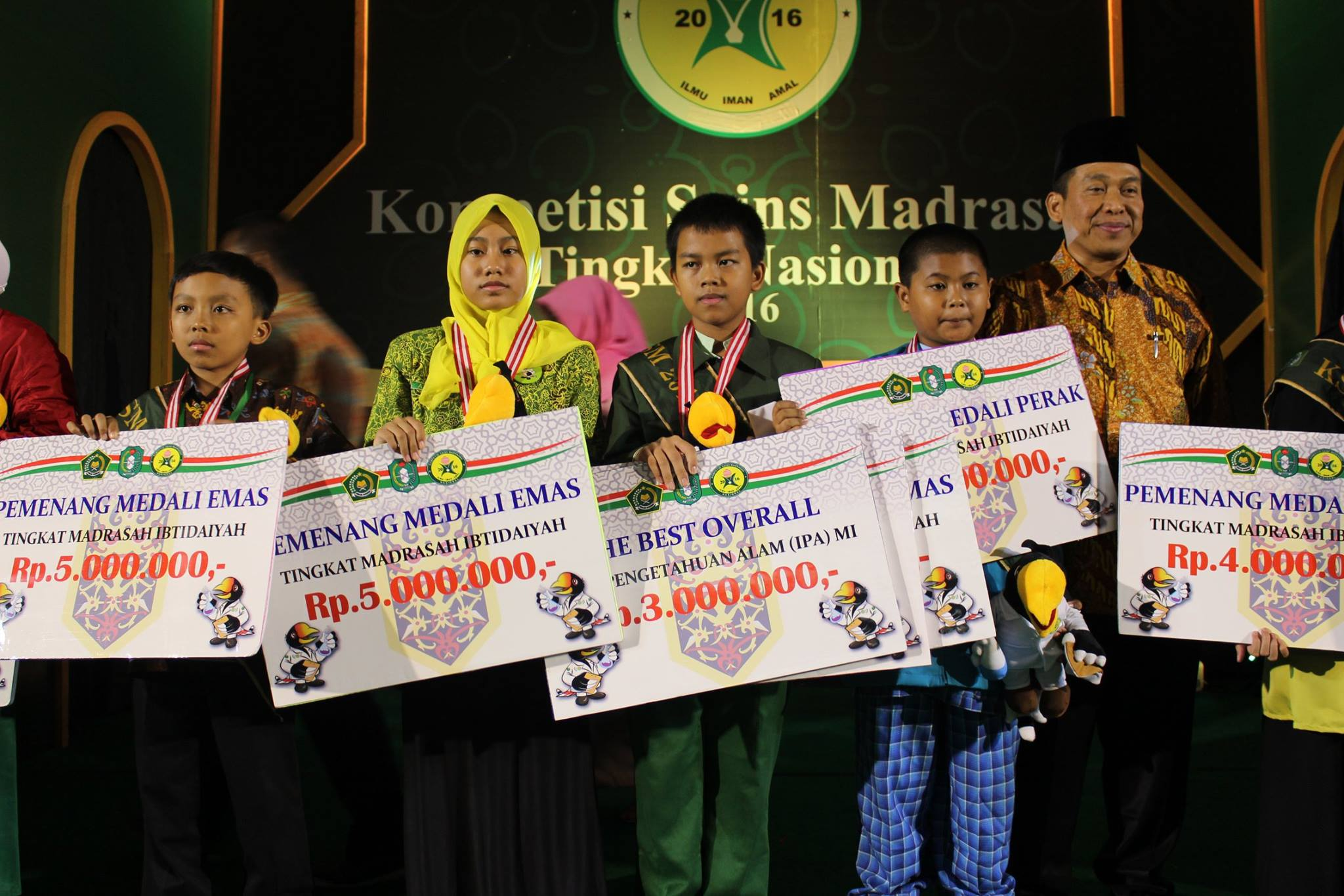 Kompetisi Sains Madrasah (KSM) 2016